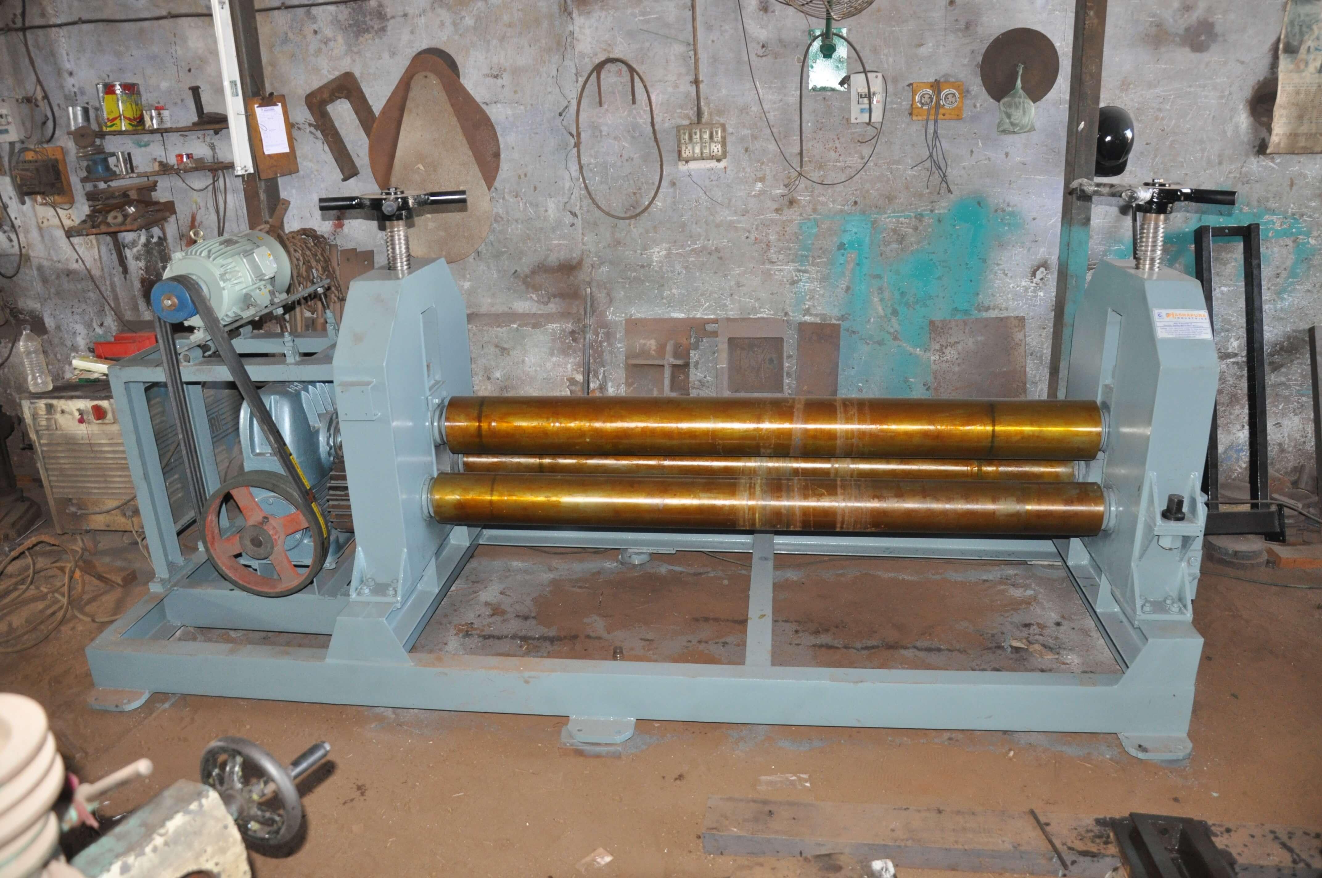 Plate Round Bending Machine